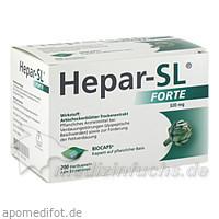 HEPAR SL forte Hartkapseln, 200 ST, MCM Klosterfrau Vertriebsgesellschaft mbH
