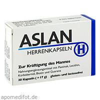 ASLAN HERRENKAPSELN, 30 ST, Aslan GmbH