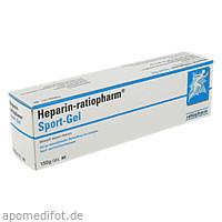 Heparin Ratiopharm SPORT Gel, 150 G, ratiopharm GmbH