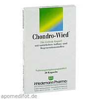 Chondro-Wied, 20 ST, Wiedemann Pharma GmbH