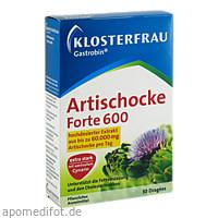 Klosterfrau Gastrobin Artischocke forte 600, 30 ST, MCM KLOSTERFRAU Vertr. GmbH
