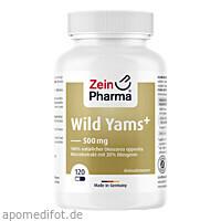 Wild Yams Plus, 120 ST, Zein Pharma - Germany GmbH