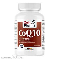 Coenzym Q 10 100mg, 120 ST, Zein Pharma - Germany GmbH