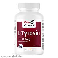 L-Tyrosine Caps, 120 ST, Zein Pharma - Germany GmbH