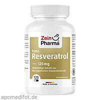 Resveratrol 125 Caps, 120 ST, Zein Pharma - Germany GmbH