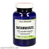 Enzianwurzel 375mg GPH Kapseln, 180 ST, Hecht-Pharma GmbH