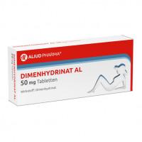 Dimenhydrinat AL 50 mg Tabletten, 20 ST, Aliud Pharma GmbH