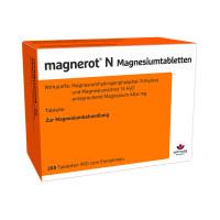 magnerot N Magnesiumtabletten, 200 ST, Wörwag Pharma GmbH & Co. KG