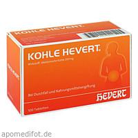 Kohle Hevert, 100 ST, Hevert Arzneimittel GmbH & Co. KG