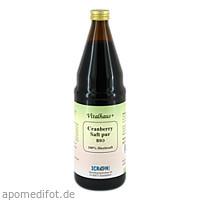 Cranberry Saft pur Bio Vitalhaus, 750 ML, Axisis GmbH
