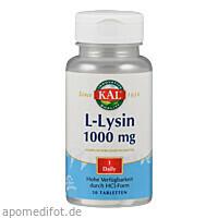 L LYSIN 1000MG, 50 ST, Supplementa Corporation B.V.
