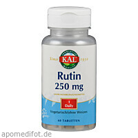 RUTIN 250MG, 60 ST, Supplementa Corporation B.V.