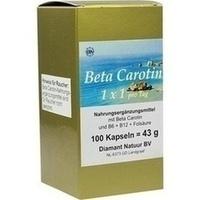 Beta Carotin 1 x 1 pro Tag, 100 ST, Fbk-Pharma GmbH