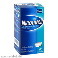 Nicotinell Lutschtabletten 2mg Mint, 96 ST, GlaxoSmithKline Consumer Healthcare