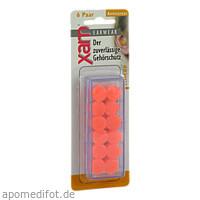 Ohrschutz Xam med. Silikon orange, 12 ST, ST Global GmbH
