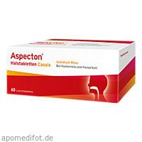 Aspecton Halstabletten Cassis, 60 ST, Hermes Arzneimittel GmbH