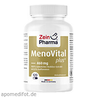 MenoVital Plus-Rotklee Extrakt, 120 ST, Zein Pharma - Germany GmbH