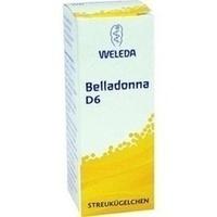 Belladonna D6, 10 G, Weleda AG