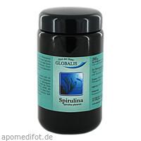 SPIRULINA 100% reines GLOBALIS Pulver Violettglas, 200 G, Globalis - Oase der Natur