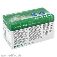 OMNICAN fine Pen-Kanüle G31 0.25X6mm, 100 ST, B. Braun Melsungen AG