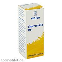 Chamomilla D6, 10 G, Weleda AG