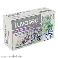 Luvased Nacht zum Einschlafen, 100 ST, DR. KADE Pharmazeutische Fabrik GmbH
