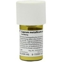 Cuprum met.pr. D20, 20 G, Weleda AG