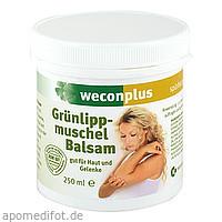 Weconplus Grünlippmuschel Balsam, 250 ML, Weber Consult