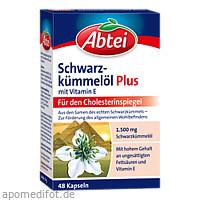 Abtei Schwarzkümmelöl Plus, 48 ST, Omega Pharma Deutschland GmbH