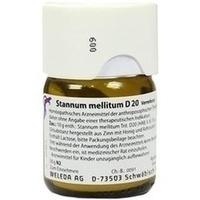 Stannum mellitum D20, 50 G, Weleda AG