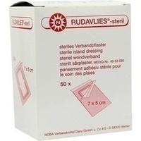 RUDAVLIES STERIL 7CMX5CM VERBANDPFLASTER, 50 ST, Nobamed Paul Danz AG