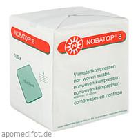 Noba Nobatop 8 Unsterile Vliesstoffkompressen 4-lagig 200 Stück Erste Hilfe Medizin & Labor