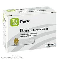 MYLIFE Pura Blutzucker Teststreifen, 50 ST, Medi-Spezial GmbH