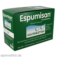 Espumisan fuer bildgebende Diagnostik, 50X10 ST, Berlin-Chemie AG