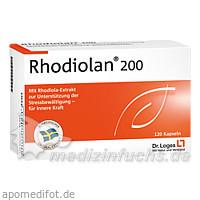 RHODIOLAN 200 Kapseln, 120 ST, Dr. Loges + Co. GmbH