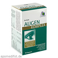 Augen Komplex Kapseln, 90 ST, Avitale GmbH
