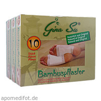 Bambuspflaster Gina Su Vitalpflaster, 30 ST, Apofit Arzneimittelvertrieb GmbH