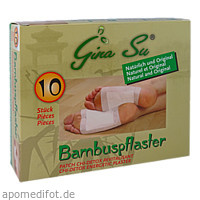 Bambuspflaster Gina Su Vitalpflaster, 10 ST, Apofit Arzneimittelvertrieb GmbH