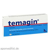 TEMAGIN PARACETAMOL-PLUS, 20 ST, Axicorp Pharma GmbH
