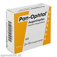 Pan-Ophtal Augentropfen, 3X10 ML, Dr. Winzer Pharma GmbH
