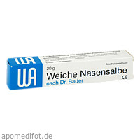 WEICHE NASENSALBE, 20 G, Wetterau-Apotheke I.Schulze