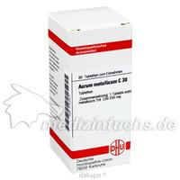 AURUM METALLICUM C30, 80 ST, Dhu-Arzneimittel GmbH & Co. KG
