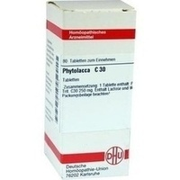PHYTOLACCA C30, 80 ST, Dhu-Arzneimittel GmbH & Co. KG