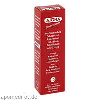 AJONA STOMATICUM Zahncremekonzentrat, 25 ML, Dr.Rudolf Liebe Nachf. GmbH & Co. KG