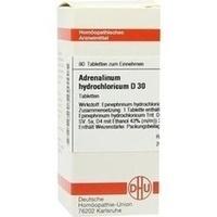 ADRENALINUM HYDROCHL D30, 80 ST, Dhu-Arzneimittel GmbH & Co. KG