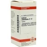 AETHIOPS ANTIMON D12, 80 ST, Dhu-Arzneimittel GmbH & Co. KG