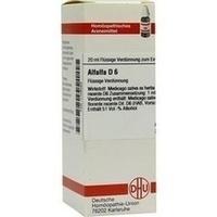 ALFALFA D 6, 20 ML, Dhu-Arzneimittel GmbH & Co. KG