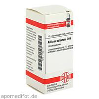 ALLIUM SATIVUM D 6, 10 G, Dhu-Arzneimittel GmbH & Co. KG