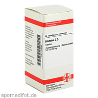 ALUMINA C 5, 80 ST, Dhu-Arzneimittel GmbH & Co. KG