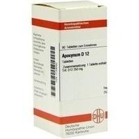 APOCYNUM D12, 80 ST, Dhu-Arzneimittel GmbH & Co. KG